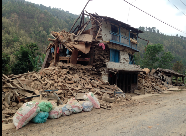 Earthquake near Tapatoni, Nepal